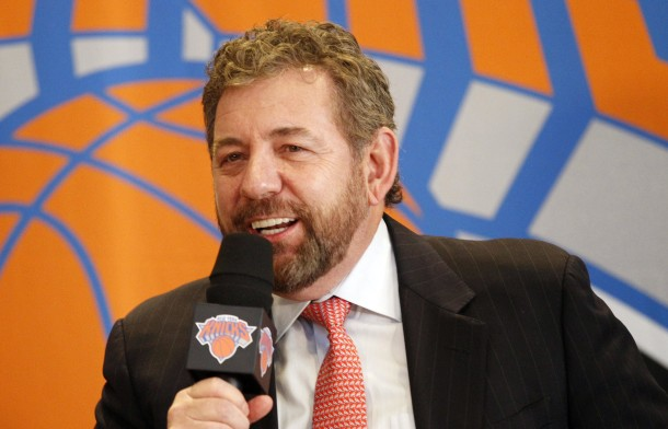 James Dolan 'Courting Offers' For Knicks?