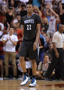 NBA: Minnesota Timberwolves at Miami Heat
