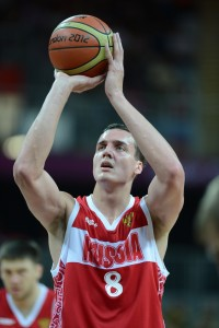 Olympics: Basketball-Men's Preliminary-AUS vs RUS