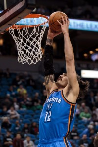 Steven Adams vertical