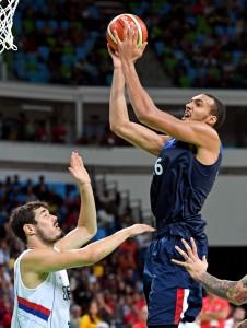 Olympics: Basketball-Men's Team-Preliminary SRB vs FRA