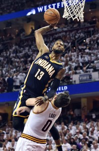 Paul George vertical