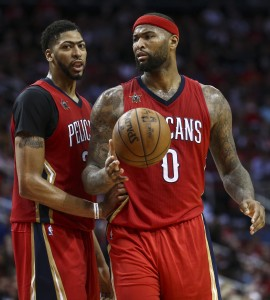 Anthony Davis DeMarcus Cousins vertical