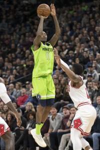 NBA: Chicago Bulls at Minnesota Timberwolves
