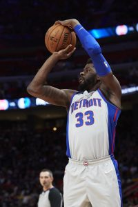 James Ennis of the Detroit Pistons