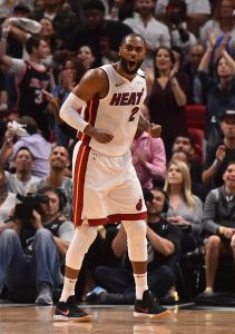 Wayne Ellington of the Miami Heat
