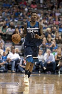 Jamal Crawford of the Minnesota Timberwolves
