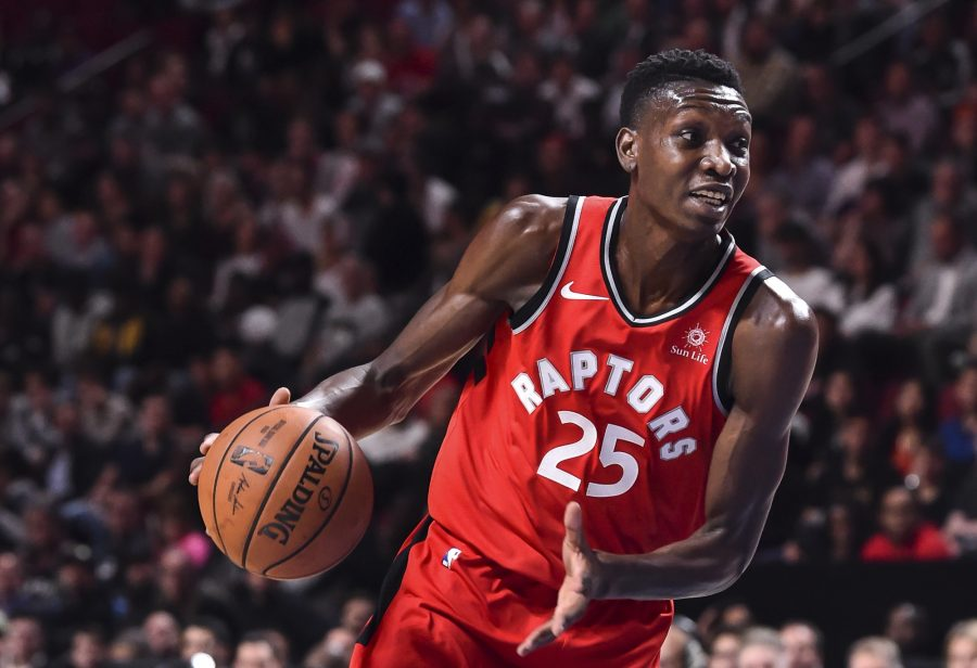 promo code 1f76a 1805a Raptors Sign Chris Boucher To Two-Year Deal | Hoops Rumors