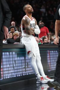 best cheap 9697a e5667 JULY 6  The Trail Blazers have officially signed Lillard to his super-max  extension, the team announced today in a press release.