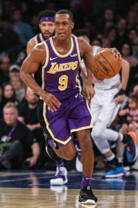Lakers Re Sign Rajon Rondo Hoops Rumors