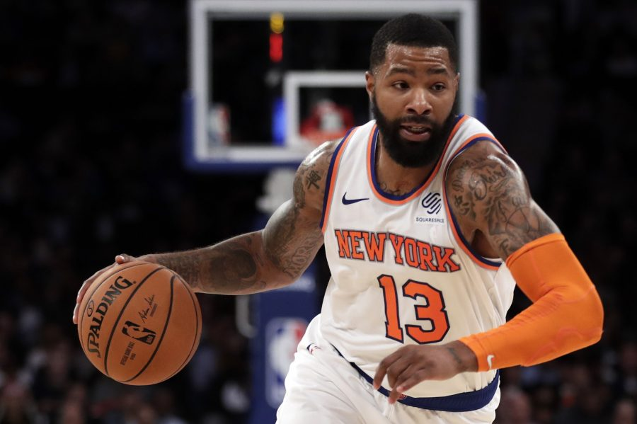 Marcus Morris Showcasing Leadership Qualities With Knicks